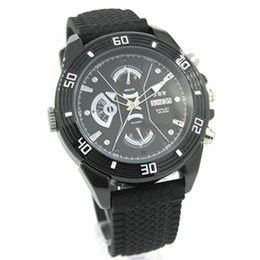Wholesale Battery Video Cam - NEW FULL HD 1920*1080P VIDEO Recorder SPY WATCH CAMERA WITH REMOVABLE BATTERY & MEMORY Night Vision Hidden Wristwatch Cam DVR