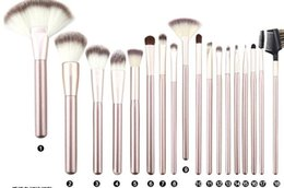 Wholesale Makeup Brushes 18 Pcs - Makeup Brushing Brush Set 12 18 24 pcs Soft Synthetic Professional Cosmetic Makeup Foundation Powder Blush Eyeliner Brushes