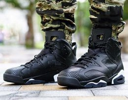 Wholesale Cats Women Shoes - (With Box) AAA+ quality air retro 6 Black Cat 3M Reflect men women Basketball Shoes 6s sports Sneakers Athletics Shoes US 5.5-13