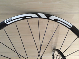 Wholesale Mountain Bike 29er Wheels - 27.5 carbon wheels mtb 29er 650B wheel sets 35mm width Tubeless hookless Asymmetry compatible ruote bici da corsa DH-down hill