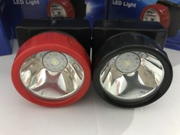 Wholesale Miners Led Headlamp - Free Shipping LD-4625 LED Miner Safety Cap Lamp LED Mining Light High Safety with Car Charger
