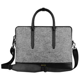 Wholesale Messenger Bag Ipad Sleeve - Wholesale fashion women laptop sleeve bag case for iPad macbook air pro 11 12 13 14 inch handbag notebook one shoulder bags