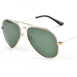 Wholesale Titanium Rimless Frames For Men - classic beach fashion brand Driving pilot designer Hollow Irregular sunglasses for men and women full frame