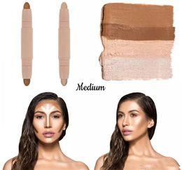 Wholesale Beauty Control - In Stock new Kylie KKW BEAUTY Highlighters sticks contours Stick contours brush Cream Contour Kim Kardashian 2 in 1 Makeup Set