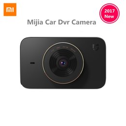 Wholesale Remote Control Car Watch - Wholesale- Xiaomi Mijia Carcorder Car Recorder F1.8 1080P 160 Degree Wide Angle 3 Inch HD Screen Car DVR Camera MI home APP Remote control