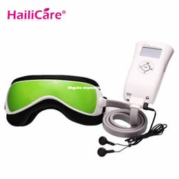 Wholesale Device Eye Dark Circles - New Air Pressure Eye Massager Personal Health Care Electronic Massager Eye Protection Device Equipment Eye Care