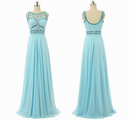 Wholesale Cheap Natural Diamonds - 2017 Free Shipping Cheap Sexy Blue Chiffon Cocktail Dress Evening Dress Design Diamond Collar Bridesmaid Dresses Pictures HY1477
