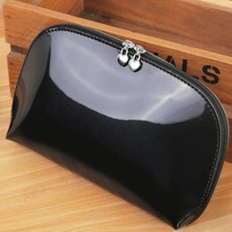 Wholesale Luxury Cosmetic Bags Wholesale - Travel Portable Waterproof Cosmetic Bag PU Multi-functional Storage Bag Lady Luxury Makeup Organizer Pouch Zipper Make Up Bags Toiletry Kit