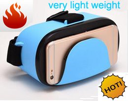 Wholesale Generations Small - VR BOX MINI two generation VRBOX mirror gifts customized virtual reality glasses light weight and small size portable manufacturers