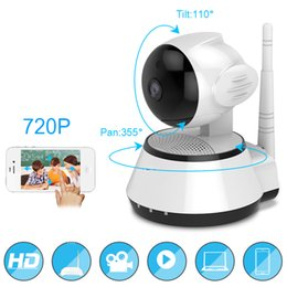 Wholesale Audio Access - Home Security IP Camera Wireless Smart WiFi Camera WI-FI Audio Record Surveillance Baby Monitor HD Mini CCTV Camera Hiseeu FH2A