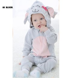 d61bc48e0fc6 2019 Promotion Price New Baby Warm Hooded Rompers Thicken Winter ...