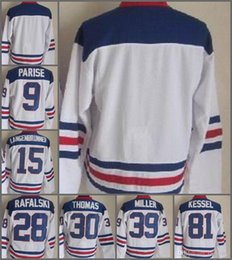 Wholesale Usa Olympic Hockey - 2010 Team USA Hockey Jersey Ice OLYMPIC Blue 9 Zach Parise 88 Patrick Kane 81 Phil Kessel 28 Brian Rafalski 39 Miller 15 Langenbrunner