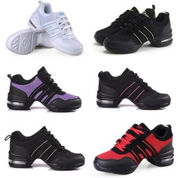 Wholesale Casual Jazz Shoes - Hot Men Women Kid's Athletic Sneaker Comfy Modern Hip Hop Dance Sneakers Running Casual Square Jazz Shoes Large Size