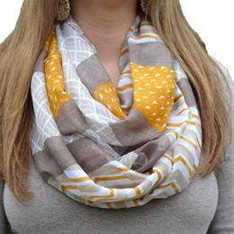Wholesale Bali Yarn Shawls - Wholesale- winter women Bali yarn geometric printing scarf Cotton Lady Shawl Geometric Printing Infinity Scarves women neckerchief 90*180cm