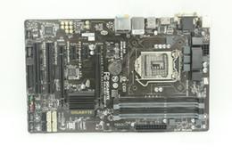B85 1150 carte mère utilisé original pour GIGABYTE GA-B85-HD3-A B85 cartes mères tous les condensateurs solides pour soutenir une grande plaque ? partir de fabricateur