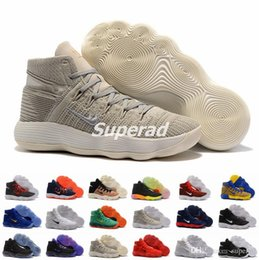 Wholesale Hyperdunk Shoes - New Mens Basketball Shoes Sneakers React Hyperdunk 2017 High Quality Mesh Basket Ball Trainer Shoe Sport 18 Colors Size 7-12