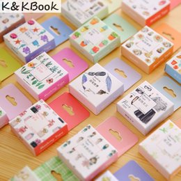 Wholesale K Tape - Wholesale- 2016 K&KBOOK Japanese Washi Tape Decorative Scotch Decorative Tape Scrapbook Paper Masking Sticker Set Photo Album