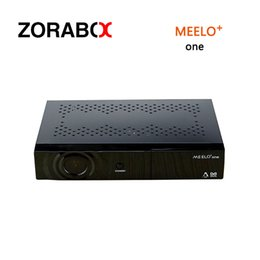 Wholesale Usb Satellite Tv - Digital Satellite Receiver Meelo +One Enigma2 DVB-S2 Decorder Linux Set Top Box ME ELO + ONE Tv Receiver With USB WIFI
