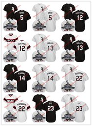 Wholesale Scott Yellow Jersey - Chicago White Sox 2005 World Series Jersey Juan Uribe A. J. Pierzynski Ozzie Guillen Paul Konerko Scott Podsednik Jermaine Dye