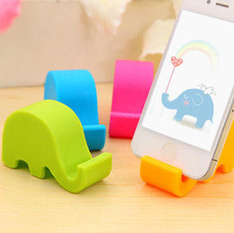 Wholesale Octopus Suckers - DHL Free Octopus Rubber Cell Phone Sucker Stand Mini Ball Mount Holder for ipod Touch iphone 4 4S 5G Colorful