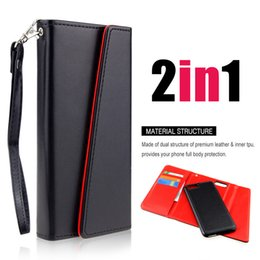 2019 кожаный чехол Премиум роскошные чехлы для телефонов iPhone 6, 7, 8, X, съемный магнитный Snap-On с слотами для карт три-сложенный кожаный бумажник чехлы обложка SCA319 дешево кожаный чехол
