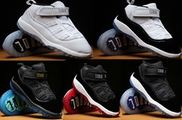 Wholesale Pre Walker White Shoes - New Children's sports shoes Kids 11 XI Space Jam Shoes Little Baby Boys Girls Toddlers 11s Gamma Concord Bred Pre-Walkers Sneaker EUR22-27
