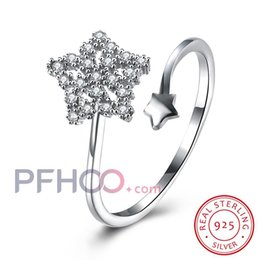 Wholesale Silver 926 - Matt Size 6-20 Celtic dropshipping bar setting zircon sterling silver 926 party couple rings diamond ring Christmas Jewelry