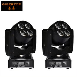 Wholesale Led Move Head 15w - TP-L6W2 Free Shipping 2XLOT 8Pcs 15W High Power RGBW Led Moving Head Wash Light Double Faced Feature Super Powerful Light