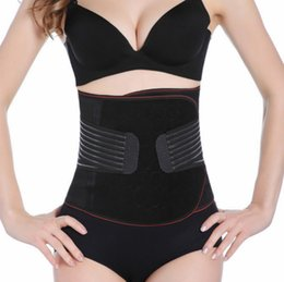 Wholesale Thin Corsets - Waist Cincher Postpartum Corset Belt Body Shapers Sexy Lingerie Ultra-thin Breathable Training Abdomen Belt Corsets Slimming 2367