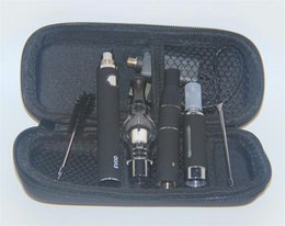 Wholesale Ago Vaporizers - 3 in 1 Dry herb vape Glass Globle wax vaporizer Ago G5 dry herb eVod vaporizers VS Magic 3 in 1 vaporizer