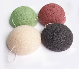 Wholesale Pure Body Cleanse - Konjac Sponge Puff Herbal Facial Sponges Pure Natural Konjac Vegetable Fiber Making Cleansing Tools For Face And Body