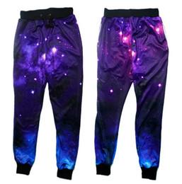 Wholesale Wholesale Graphic Pants - Wholesale- emoji joggers pants 3D graphic galaxy space printing sweatpants men women hip hop casual joggers pants plus size S-XL