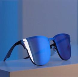Wholesale Retro Pop - AOOKO Newest Designer Pop Club Fashion Sunglasses Men Sun Glasses Women Retro Green G15 Blue Pink Silver Mercury lens