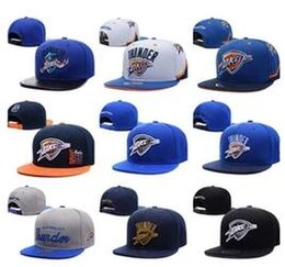 Wholesale Cap City Hats - New Fashion 2017 Oklahoma City Adjustable Thunder Snapback Hat Thousands Snap Back Hats Basketball Paul George Cap men women Baseball Caps