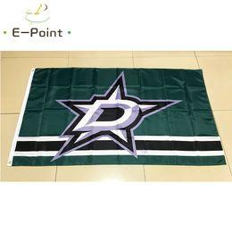 Dallas Stars National Hockey League (NHL) 3 5ft (90cm 150cm) Polyester flag  Banner American decoration flying home   garden flag. Supplier  huyongkui 690471529