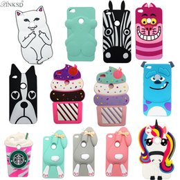 Wholesale Huawei Phone Cartoon Case - Fashion 3D Cartoon Minnie Sully Rabbit Zebra Dog Unicorn Soft Silicone Case For Huawei P8 lite 2017 Rainbow Horse Rubber Cover Phone Cases