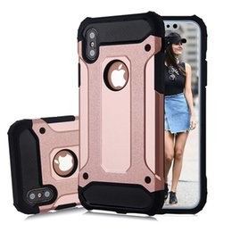 Wholesale Model Armor - For Samsung Galaxy S7 S7 edge S6 S6 edge S5 S4 S3 S8 S8 Plus Hybrid Defender Protector Armor Cases Stock Mix Model