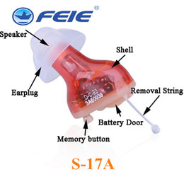 Wholesale Invisible Hearing Aids - High quality Medical device hearing aid S-17A progammable portable digital Invisible hearing amplifier with approve FDA and CE