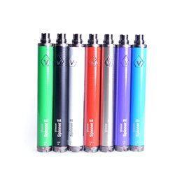 Wholesale Ecigarette Batteries - Vision Spinner 2 1650mAh battery 3.3V-4.8V Variable Voltage Vision Spinner II ecigarette battery for ego CE4 GS-H2 clearomizer
