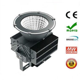 Wholesale high cranes - 500W Led Floodlight Led Tower Light High Bay Light Cree Chip MEANWELL Driver Waterproof Industrial Flood Light Tunnel Lamp Tower Crane Lamp