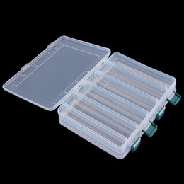 Wholesale Double Side Box - Wholesale- Good deal 12 Compartment Double Sided Fishing Lures Tackle Hooks Baits Case Storage Box