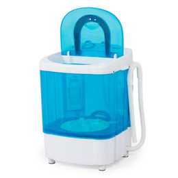 Wholesale Portable Laundry Machines - Portable Washing Machine Laundry Electric Automatic Washer Compact Load Dorm 4KG