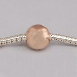 Wholesale pandora style bracelets 925 wholesale - Authentic 925 Sterling Silver Beads Rose Gold Loving Logo Clip Fits European Pandora Style Jewelry Bracelets