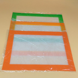 Wholesale Silicone Sheet Wholesale - Food Grade Silicone Dab Mats 30*21cm Non-Stick Silicone Pastry Bakeware Baking Mat Tray Oven Dough Rolling Liner Sheet Safely Baking Tools