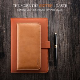 Wholesale Wallet Card Insert - FLOVEME-0012 5.5 Universal Genuine Leather Case For iPhone 6 6s 7 Plus Case Three Card Insert Wallet Pouch Cover For Samsung J5 Case
