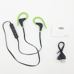 Wholesale Mobile Phone Horn - XT-1 Big Horns Bluetooth Wireless Sports Headphones Earphone in ear Stereo Earbuds for Mobile Phone with Microphone Headset Wholesale