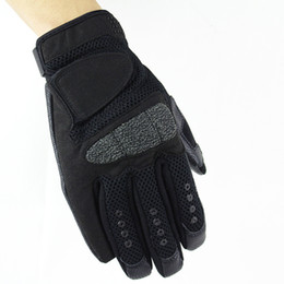 Wholesale Glove Tactic - 2017 new black outdoor tactics all fingers gloves riding exercise fitness gloves outdoor anti-skid gloves GL004-B1