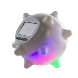 Wholesale Silent Alarm - LED Jump Children's alarm clock, silent electronic bedroom alarm table, bedside clock, creative Desktop clock, personality small alarm clock