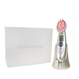 Wholesale Hair Loss Comb - 3 in 1 LCD Rechargeable Electric Laser Regrowth Therapy Cure Hair Comb Scalp Massager Anti Hair Loss Health Care Laser Comb