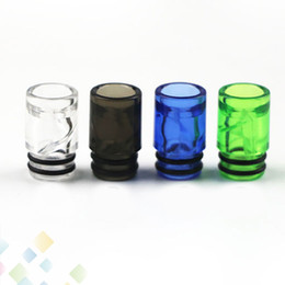 Wholesale Spiral Drip Tip EGo AIO Helical Spiral Drip Tips for AIO Atomizers E Cigarette Airflow Mouthpiece High quality DHL Free